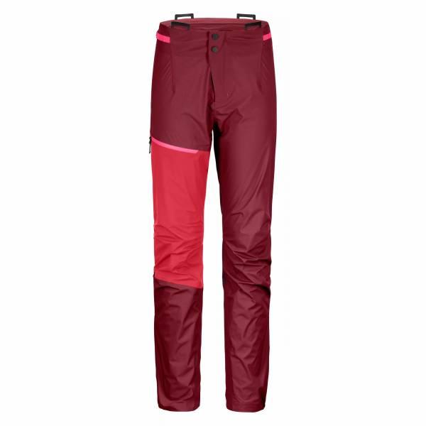Ortovox Westalpen 3L Light Pant Damen Outdoorhose Funktion Trekking rot NEU - Bild 1