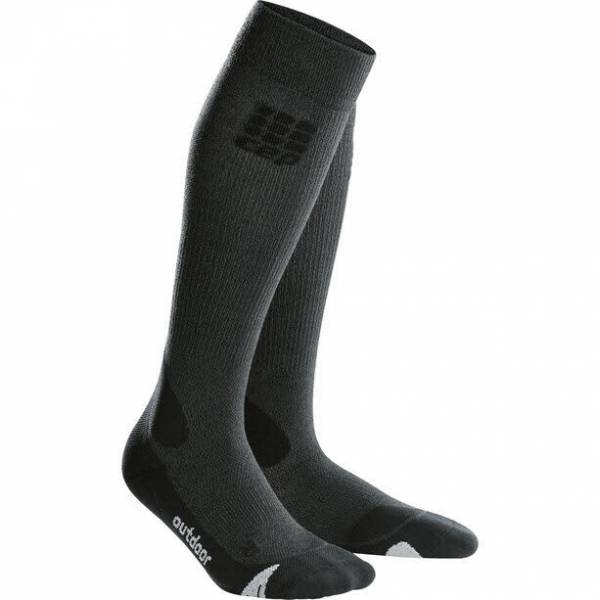 cep Pro+ Outdoor Merino Socks Damen Funktionssocken Kompression schwarz NEU