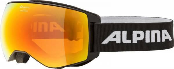 Alpina Naator HM Unisex Skibrille Snowboardbrille Wintersport Alpin black NEU
