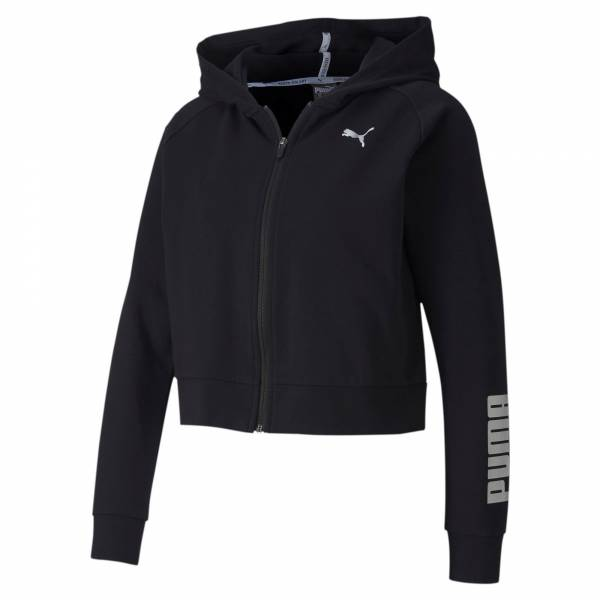 PUMA RTG FZ Jacket Damen Sportjacke Fitness Gymnastik Freizeit schwarz NEU - Bild 1