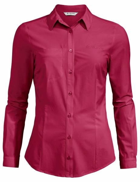 VAUDE Skomer LS Shirt Damen Wanderbluse Trekking Outdoor Freizeit pink NEU - Bild 1