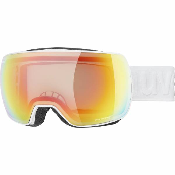 Uvex Compact V Herren Skibrille Snowboardbrille Wintersport Goggle white NEU