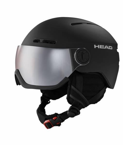 Head Knight Black Skihelm Snowboardhelm schwarz unisex NEU - Bild 1