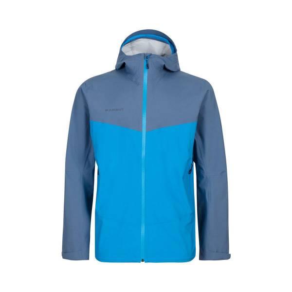 MAMMUT Albula HS Hooded Jacket Herren Funktionsjacke Regenjacke blau NEU - Bild 1