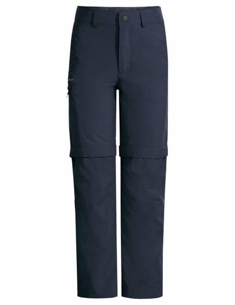 Vaude Kids Detective Antimos ZO Pants Kinder Zipp-Off Hose Outdoorhose grau NEU - Bild 1