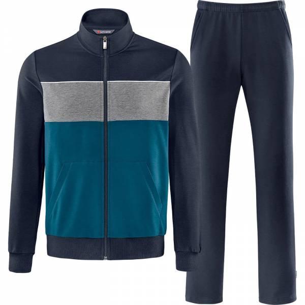 Schneider Blairm Anzug Herren Trainingsanzug Fitness Freizeit dunkelblau NEU - Bild 1