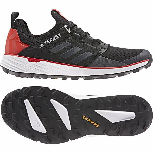 adidas Terrex Speed LD Herren Trekkingschuhe Outdoor Freizeit black red NEU - Bild 1