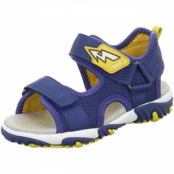 superfit Sandale Klettverschluss Jungen Outdoor Freizeit blau gelb NEU - Bild 1