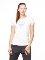 Chillaz Gandia Sloth T-Shirt Freizeit Outdoor sportlich modisch Damen weiß NEU