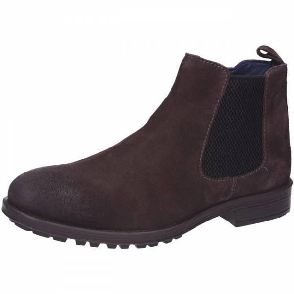 s. Oliver Stiefelette Chelsea Boots Leder Herren braun NEU - Bild 1