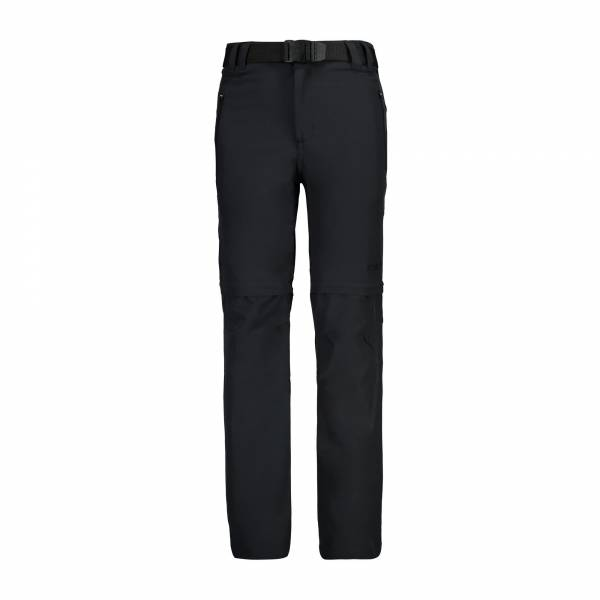 Campagnolo Stretch Long Pant Zip off Jungen CMP Trekkinghose grau NEU - Bild 1