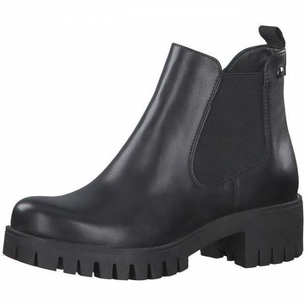 s. Oliver Stiefelette Boots Reißverschluss schwarz NEU