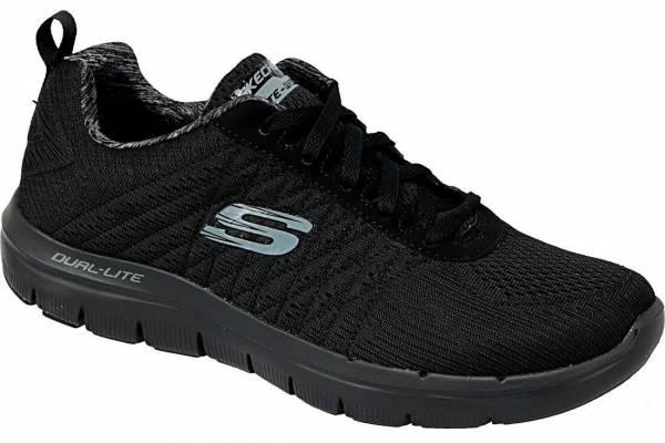 Skechers Flex Advantage 2.0 Herren Freizeitschuhe Sneaker Outdoor schwarz NEU
