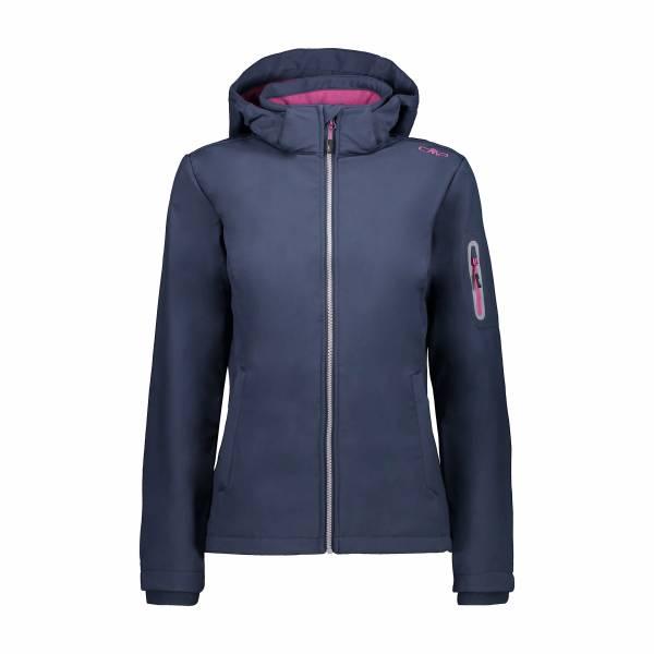 CMP DA Woman Jacket ZIP HOOD Damen Softshell Jacke dunkelblau NEU - Bild 1