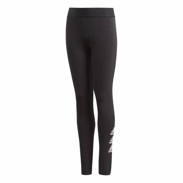 adidas Must Haves Badge of Sport Tight Mädchen Sporthose Leggings schwarz NEU - Bild 1