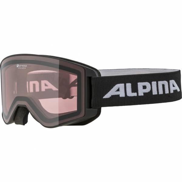 Alpina Narkoja Q Unisex Skibrille Snowboardbrille Wintersport Alpin black NEU