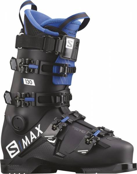 Salomon S/MAX 130 black/blue 19/20 Skischuhe Herren Skistiefel Boots NEU - Bild 1