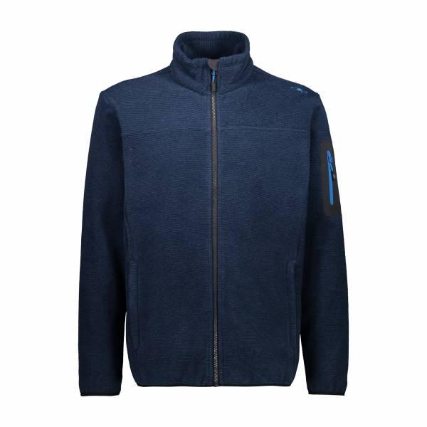 CMP He Man Jacket Herren Jacke Fleecejacke Strickfleece blau NEU - Bild 1