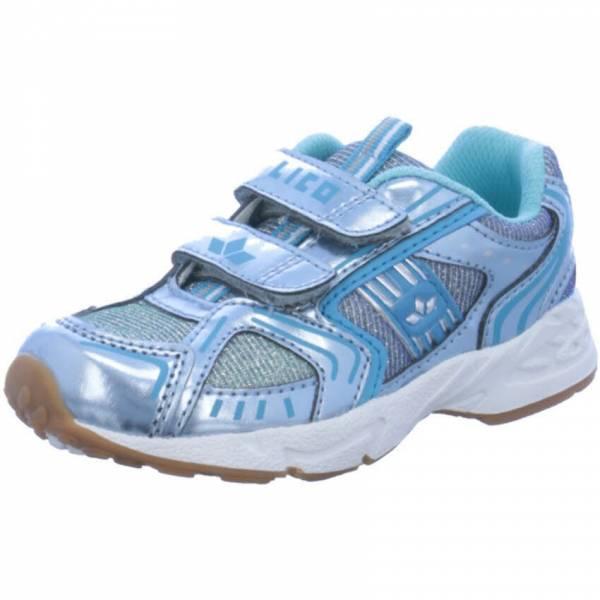 Lico Silverstar Kinder Trainingsschuhe Sneaker Sommerschuh Turnschuhe silber NEU - Bild 1