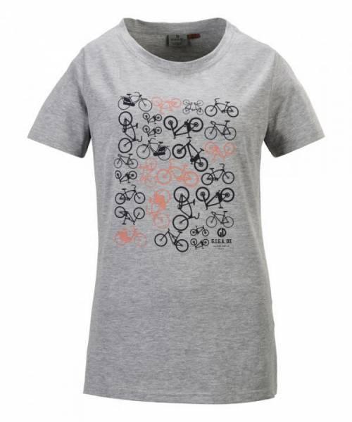 Killtec Dynamisch T-Shirt Freizeit sportlich modisch Damen grau NEU - Bild 1
