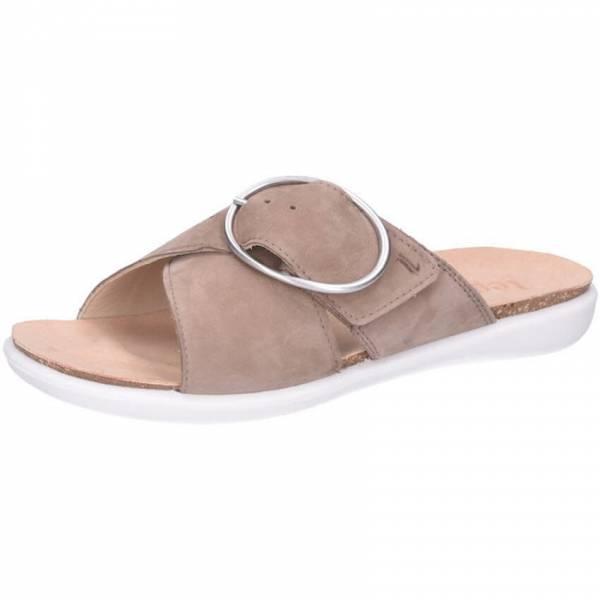 Legero Float Damen Sandale Sandalette Pantolette Sommerschuhe modisch beige NEU - Bild 1