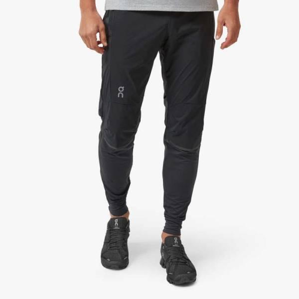ON Running Pants Herren Laufhose lang Tight Sporthose schwarz NEU - Bild 1