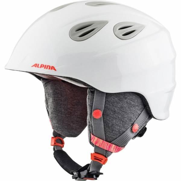 Alpina Grap 2.0 JR. Skihelm Snowboardhelm white-flamingo NEU - Bild 1