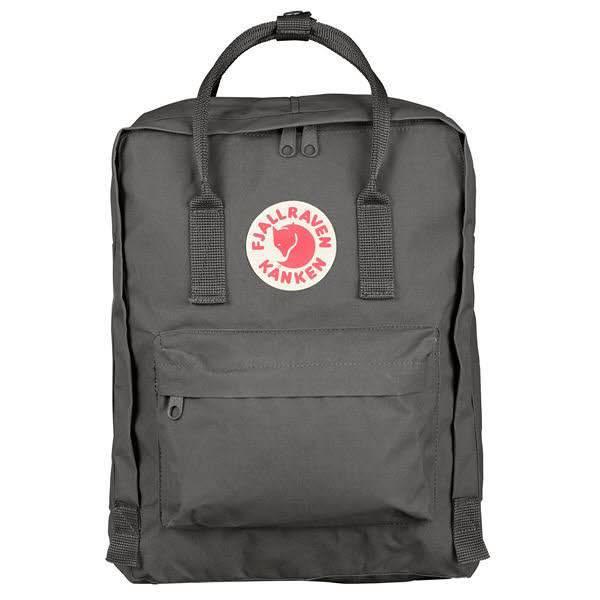 Fjällräven Kanken Rucksack Freizeit Schule Outdoor Backpacks super grey NEU