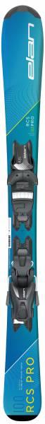 Elan RCS Pro QS Alpin Kinder Skiset 19/20  blau-gelb NEU