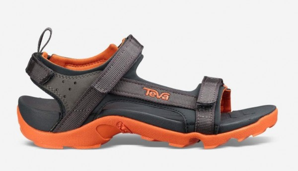 Tatonka Teva Tanza Original Kinder Sandale Trekking Schuhe Surf Grau Orange 1Paar NEU - Bild 1