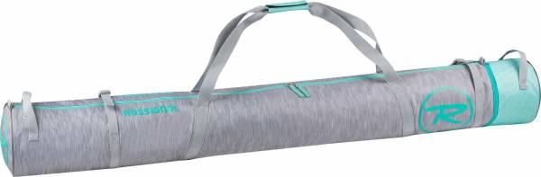 Rossignol Skitasche Skibag für 1 Paar 160-180cm grau/türkies NEU - Bild 1