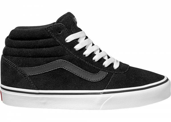 Vans Suede Ward Hi Sneaker Freizeit Skaterschuhe Black/White Damen NEU - Bild 1