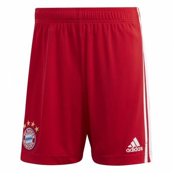 adidas FCB Home Short Herren 20/21 FC Bayern Hose rot NEU - Bild 1