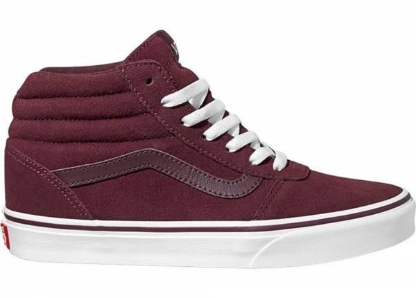 Vans Suede Ward Hi Sneaker Freizeit Skaterschuhe Port Royale Damen NEU - Bild 1