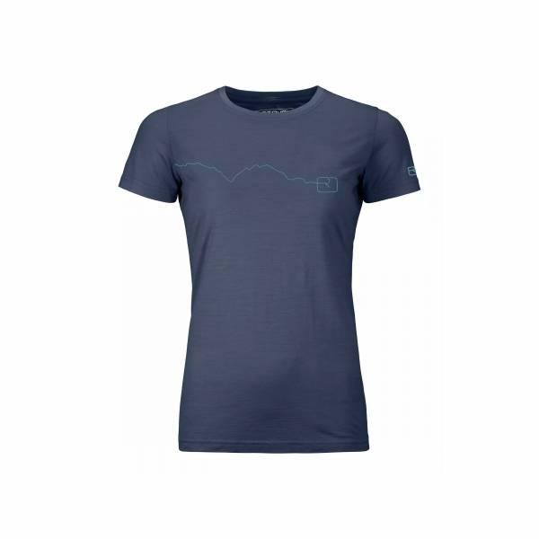 Ortovox 120 Tec Mountain T-Shirt Outdoor Wandern sportlich Damen blau NEU