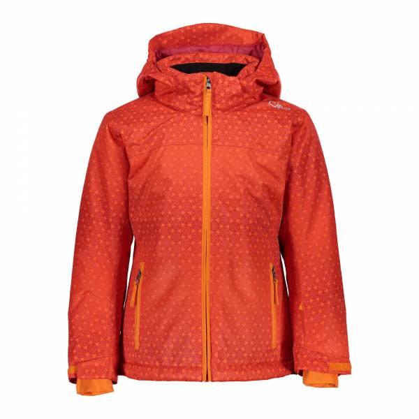 CMP Mädchen Jacket Snaps Hood Skijacke Snowboardjacke Winterjacke bitter-granita-orange NEU