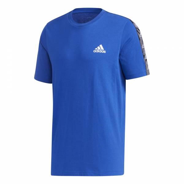 adidas Essentials Tape T-Shirt Herren T-Shirt Funktion Fitness Freizeit blau NEU - Bild 1