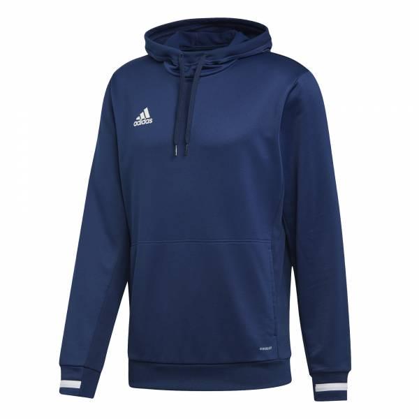 adidas Team 19 Hoody Herren Funktionsshirt Kapuze Fitness Freizeit blau NEU - Bild 1