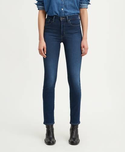 Levi´s 724 00044 High Rise Straight Jeans Damen Hose schwarz NEU - Bild 1