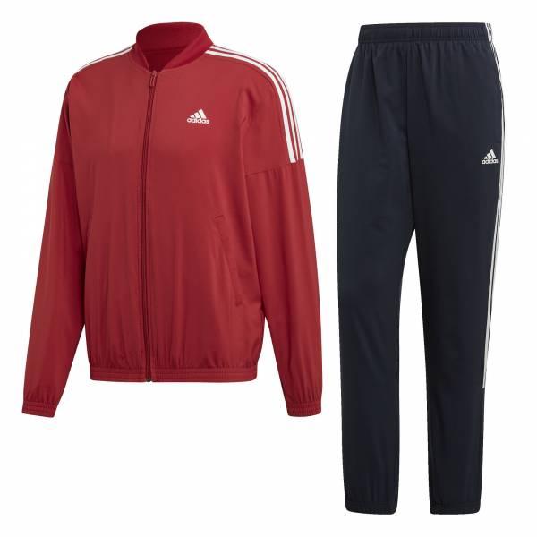 adidas Light Woven Trainingsanzug Herren Freizeit Sport Training red/black NEU - Bild 1