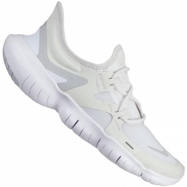 Nike Free RN 5.0 Damen Laufschuhe Freizeitschuhe Jogging Running platinum NEU