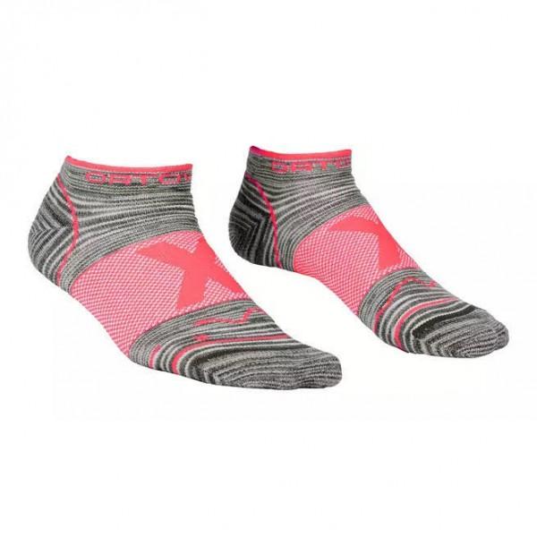 Ortovox HE Alpinist Low Socks W Damen Socken Merino Wolle rosa grau NEU