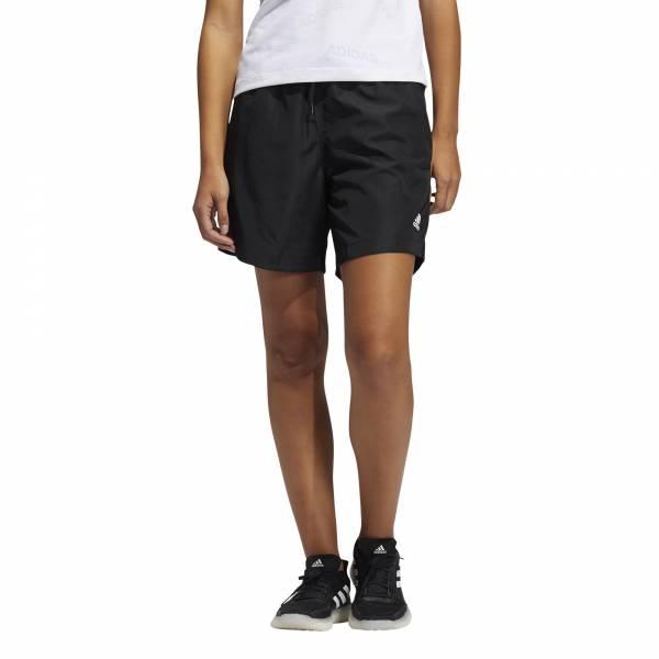 adidas Woven Long-Length Shorts Freizeit Sport Fitness Damen schwarz NEU - Bild 1