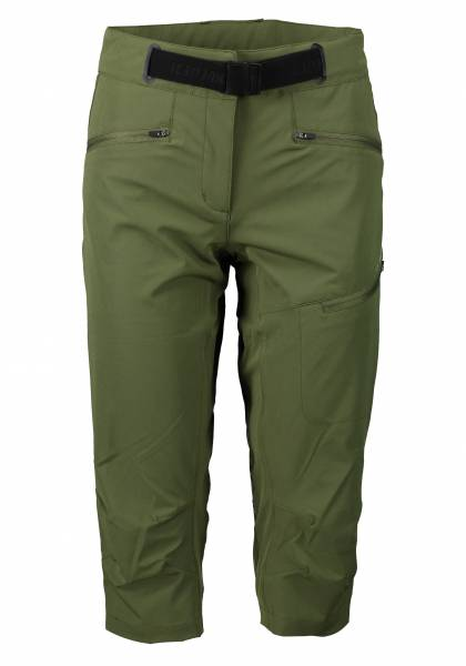Icepeak Delano Damen Outdoorhose Shorts Trekkingshort Freizeit olivgrün NEU - Bild 1