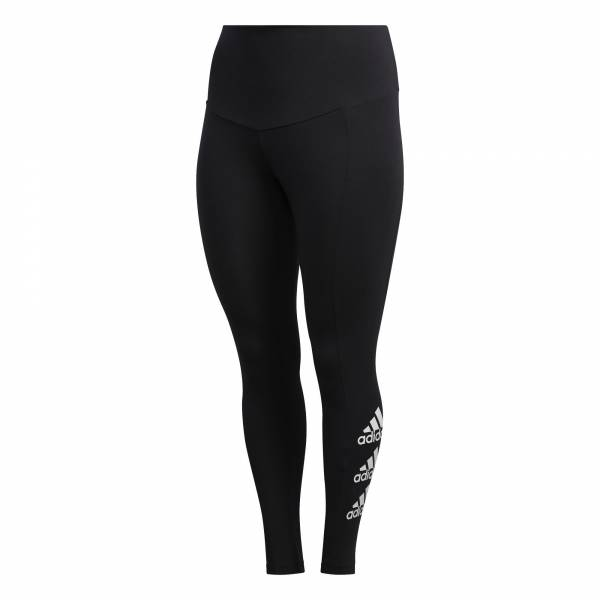 adidas Stacked Logo Tight Damen Hose lang Freizeit Sport Training black NEU - Bild 1