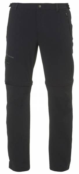 Vaude Herren Farley Stretch T-Zip Pants Wanderhose Trekkinghose Outdoorhose black NEU - Bild 1