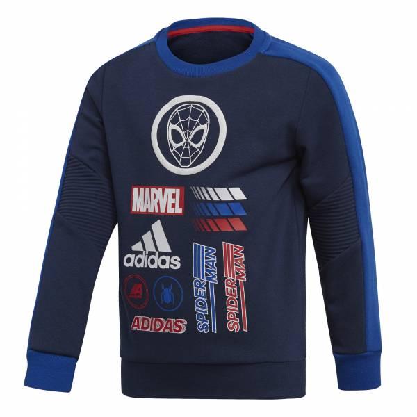 adidas LD DY SM Crew Jungen Sweatshirt Pullover Freizeit blau NEU - Bild 1