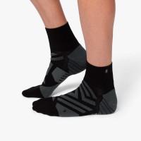 ON Mid Sock Herren Laufsocken Running black   shadow NEU