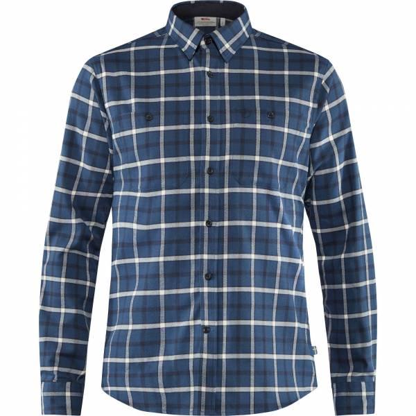 Fjällräven Fjällslim Shirt LS M Herren Trekking Hemd Outdoor Freizeit blue NEU - Bild 1