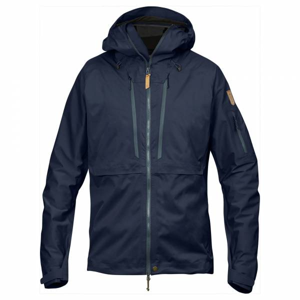 Fjällräven Keb Eco-Shell Jacket M Herren Outdoorjacke Wandern Trekking navy NEU